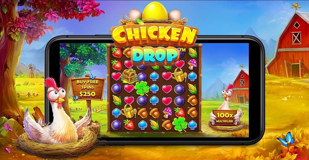 Chicken Drop Slot Review By Pragmatic Play Genius Gambling
