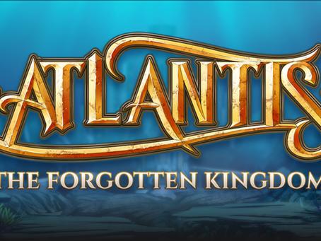 Atlantis The Forgotten Kingdom Slot Announcement By Half Pixel Studios