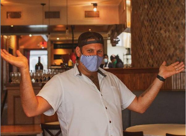Chef Brad Bernstein in Red Feather Kitchen