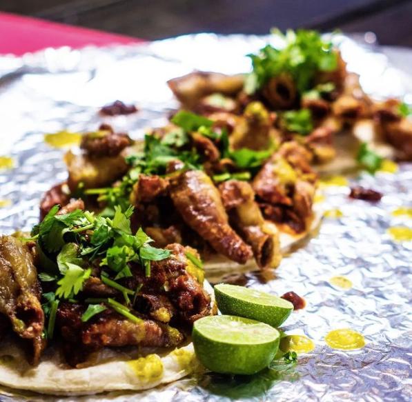 tacos from Taco Shop in El Paso Texas