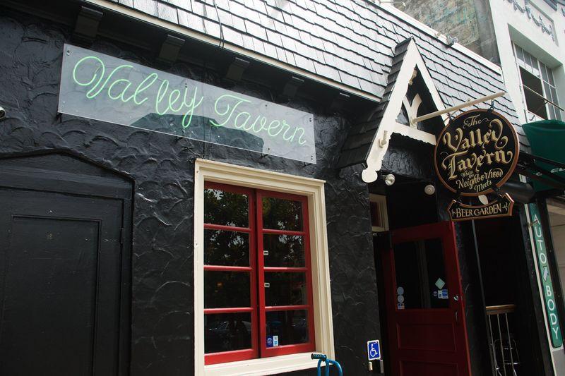 The exterior of Valley Tavern, a San Francisco neighborhood pub