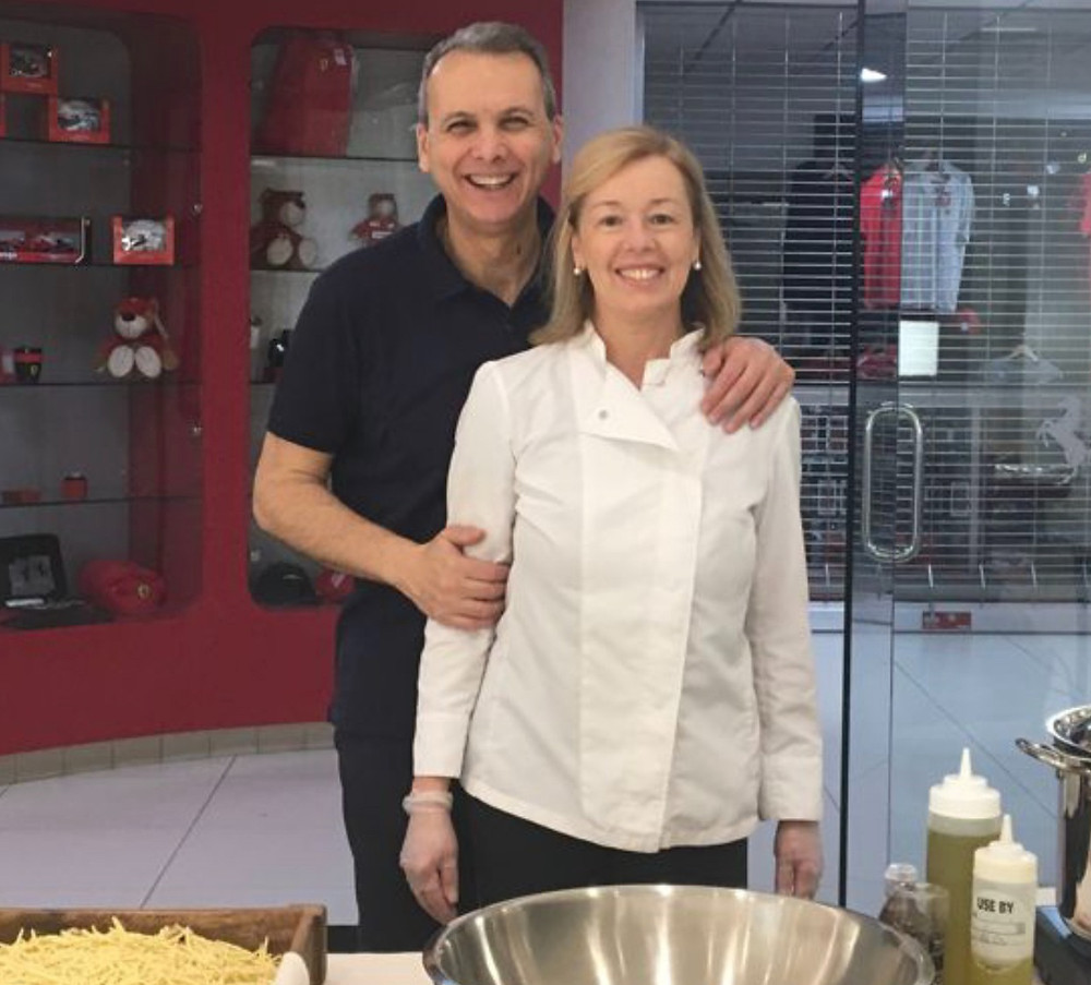Owners Claudia and Roberto of From Scratch in Ridgewood, New Jersey