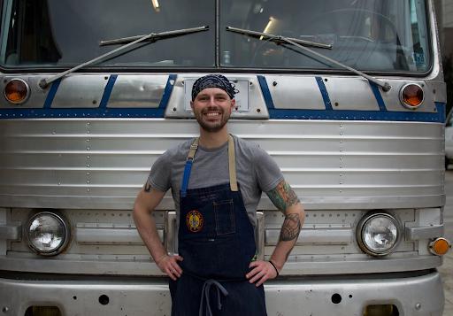 Luke, owner of Blue Sparrow Food Truck in Pittsburgh