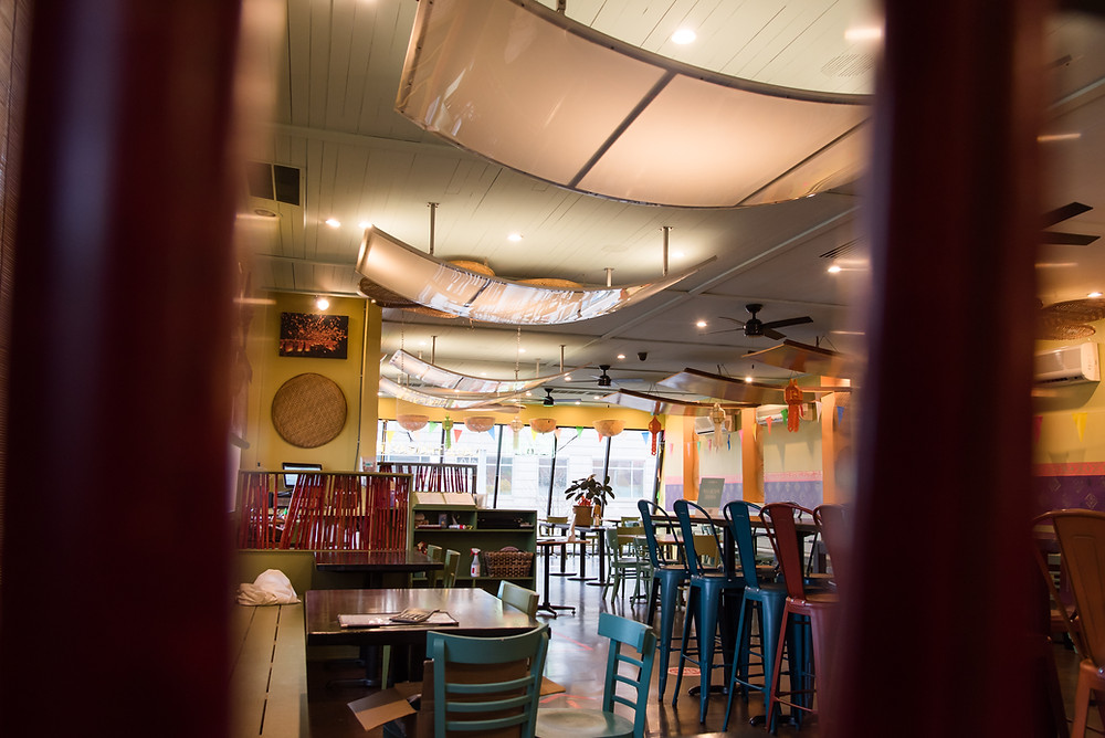 interior of Kiin Lao and Thai Eatery restaurant in Pittsburgh
