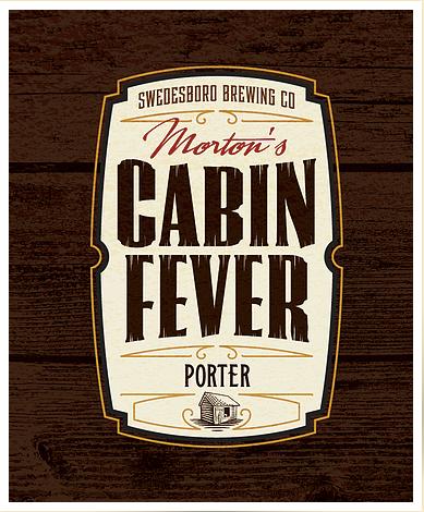 Logo for Swedesboro Brewing Company's Morton's Cabin Fever Porter