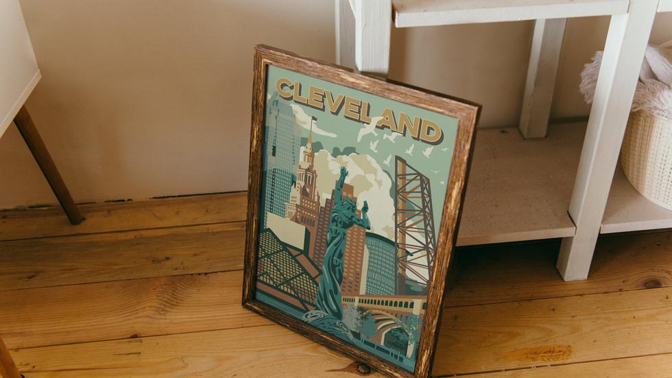 Cleveland Pop-Art Illustrations