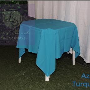 Toalha Azul Turquesa | Tecido Oxford