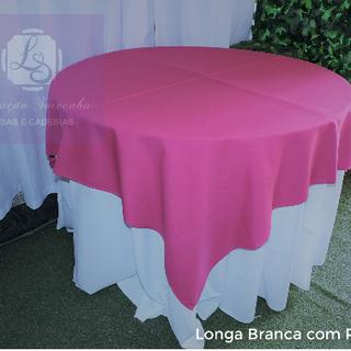 Longa Branca com Pink