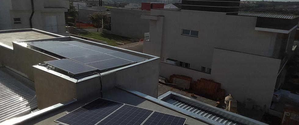 Hortolândia - Cond. Mônaco - Micro Inversor Apsystems