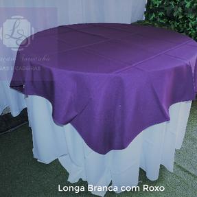 Longa Branca com Roxong
