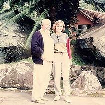 Dra Elisabeth Hahn e Dr Bernard Auteroche
