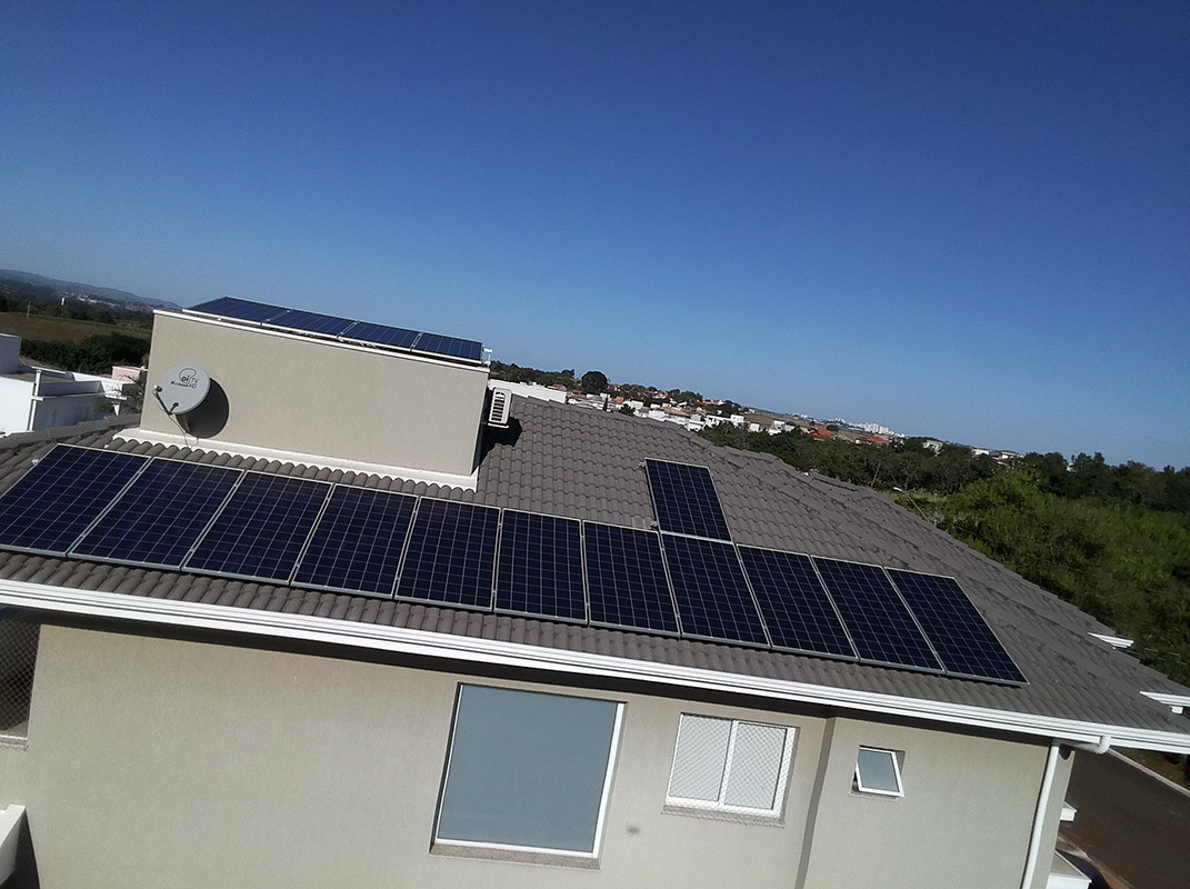 Paulínia - Cond. Figueira Branca - Micro Inversor Apsystems 5.28KWP