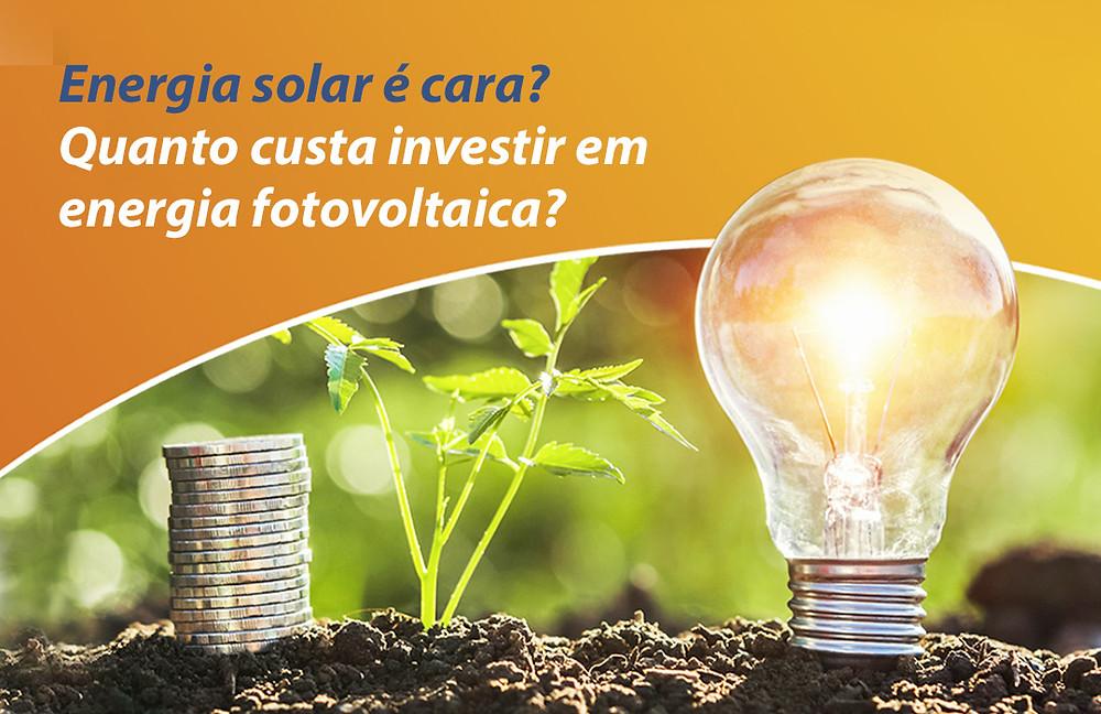 Custo da energia solar