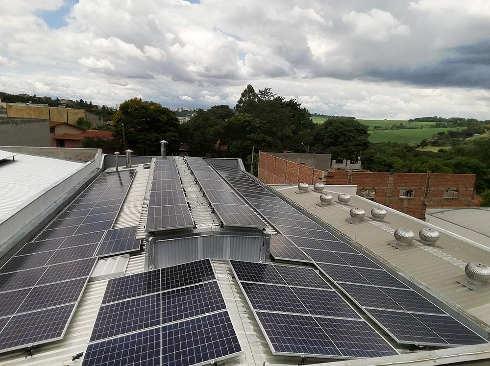 Instalação numa fábrica de bebidas – Campinas - SolarEdge-25.6KWP