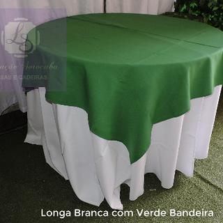 Longa Branca com Verde Bandeira