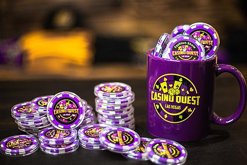 Casino Quest Chips - 1st Run