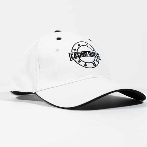 Casino Quest Luxe White Cap