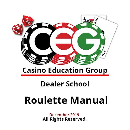 Roulette Dealer Manual