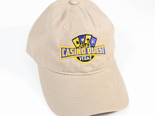 Casino Quest Unstructured Twill Caps
