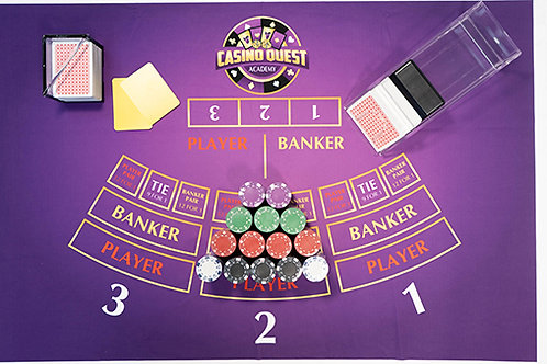 Casino Quest Baccarat Kit