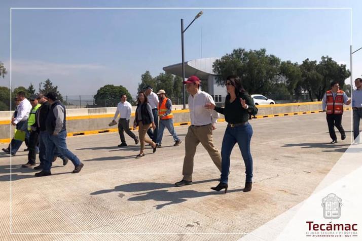 Los tecamaquenses reconocen la labor diaria que realiza Mariela Gutiérrez Escalante para el progreso