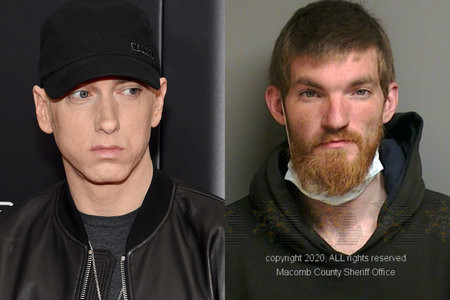 Homem que invadiu casa de Eminem, disse para o rapper que estava ali para matá-lo
