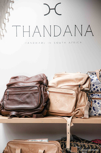Thandana Leather Diaper Bags