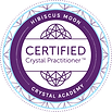 Hibiscus Moon Crystal Academy CCP badge.