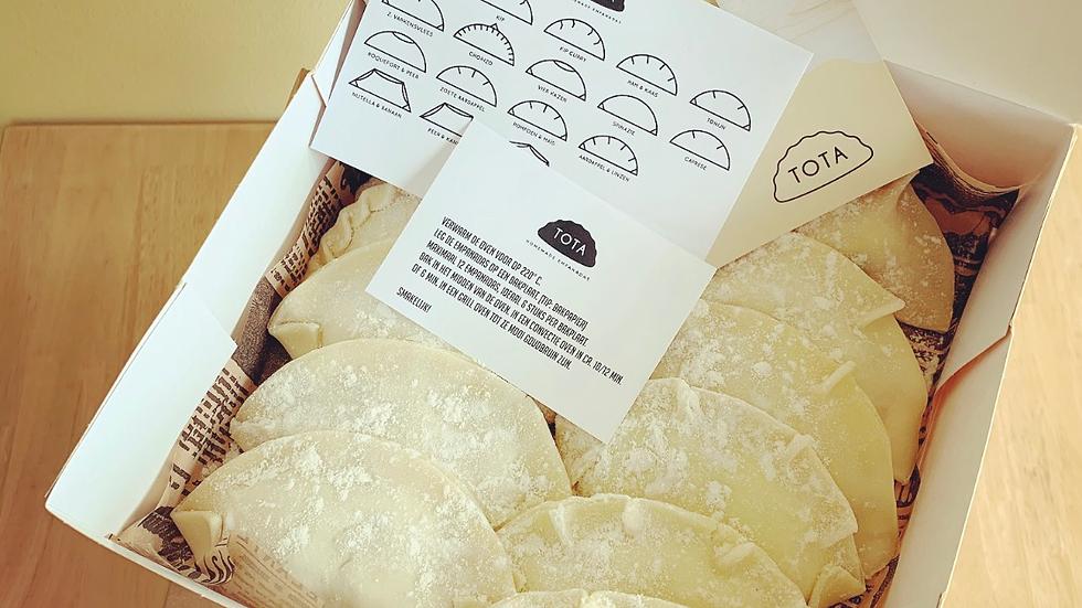 Box 60 Empanadas to bake at home