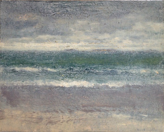 André Boubounelle / The sea at Perros-Guirec