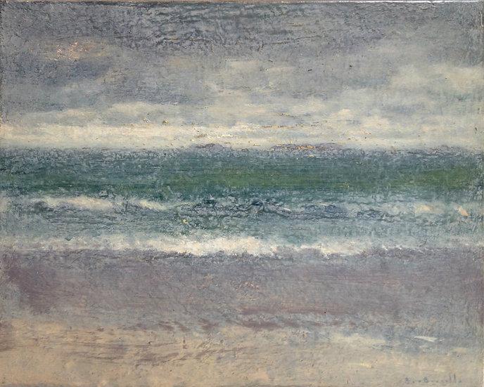 André Boubounelle / La mer à Perros-Guirec