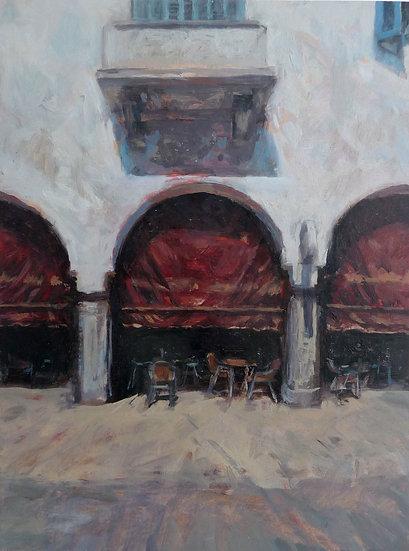 Jean-Daniel Bouvard / Café des Arcades