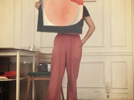 Caroline Denervaud, la danse et le trait