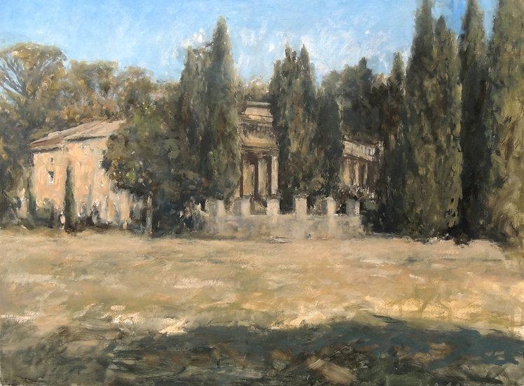 Jean-Daniel Bouvard / Château dans le Gard