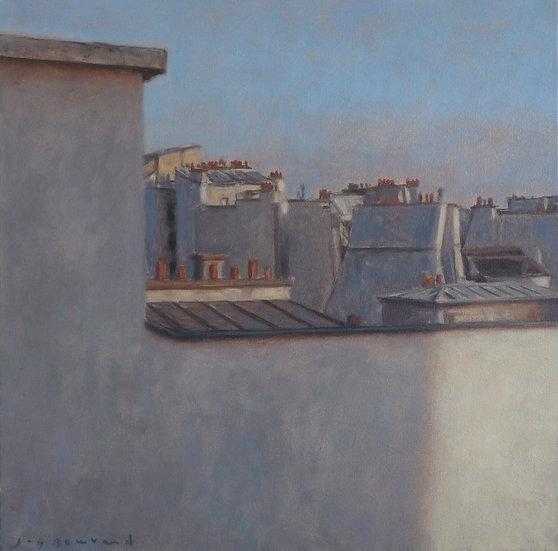 Jean-Daniel Bouvard / Toits à Paris I