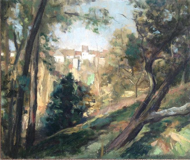 André Boubounelle / The Perched Houses in Neauphle-le-Château