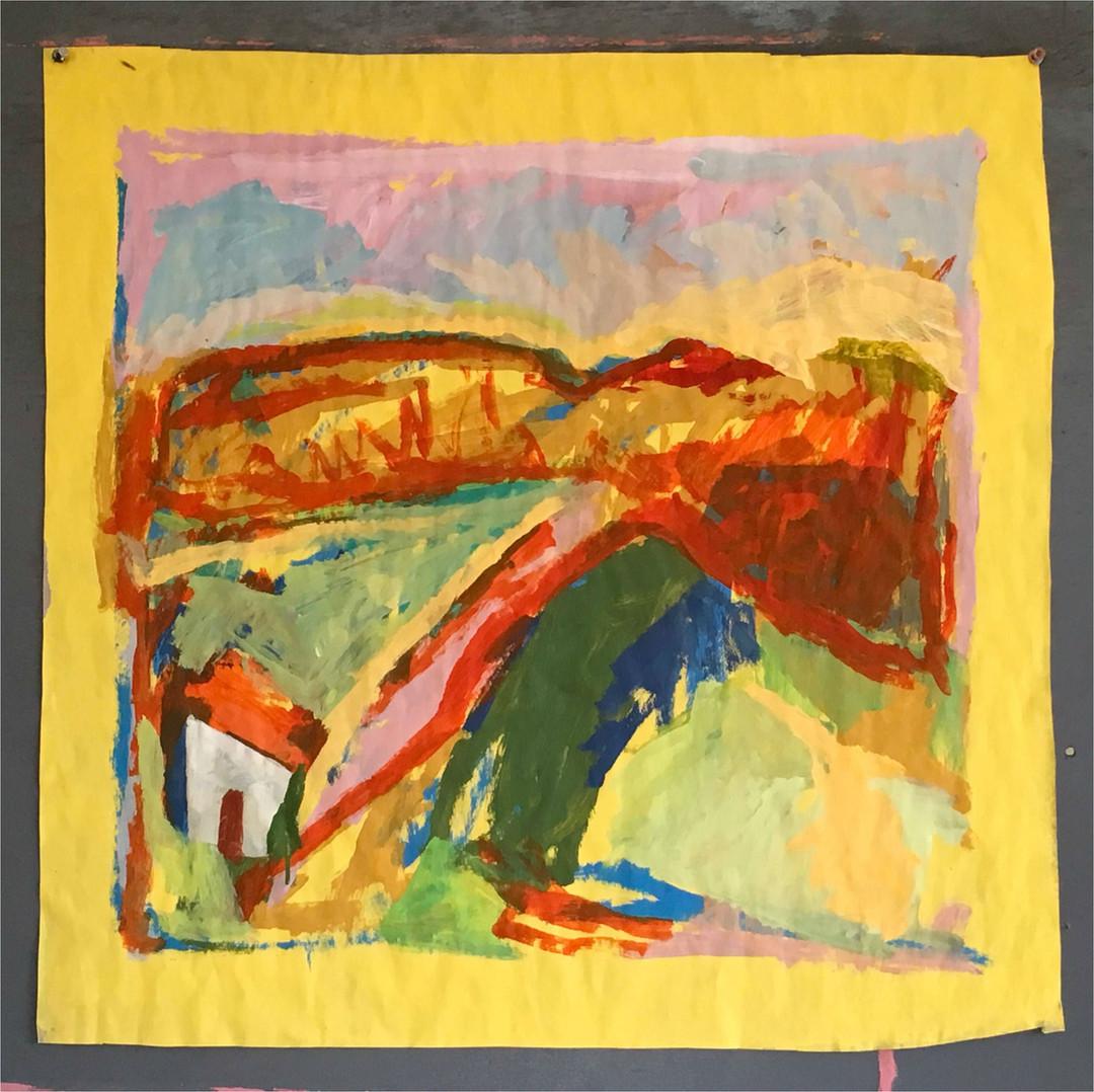 François Bensimon / Yellow bridge