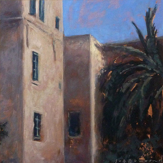 Jean-Daniel Bouvard / Facades and Palm Trees