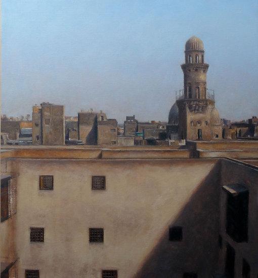Jean-Daniel Bouvard / The Roofs of Cairo IV