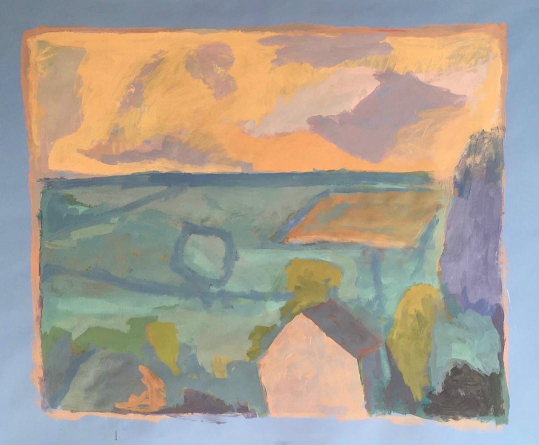 François Bensimon / Composition around a landscape