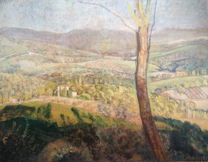 André Boubounelle / Golden Tuscany