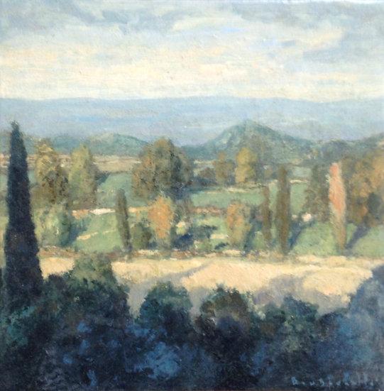 André Boubounelle / Paysage du Péloponnèse