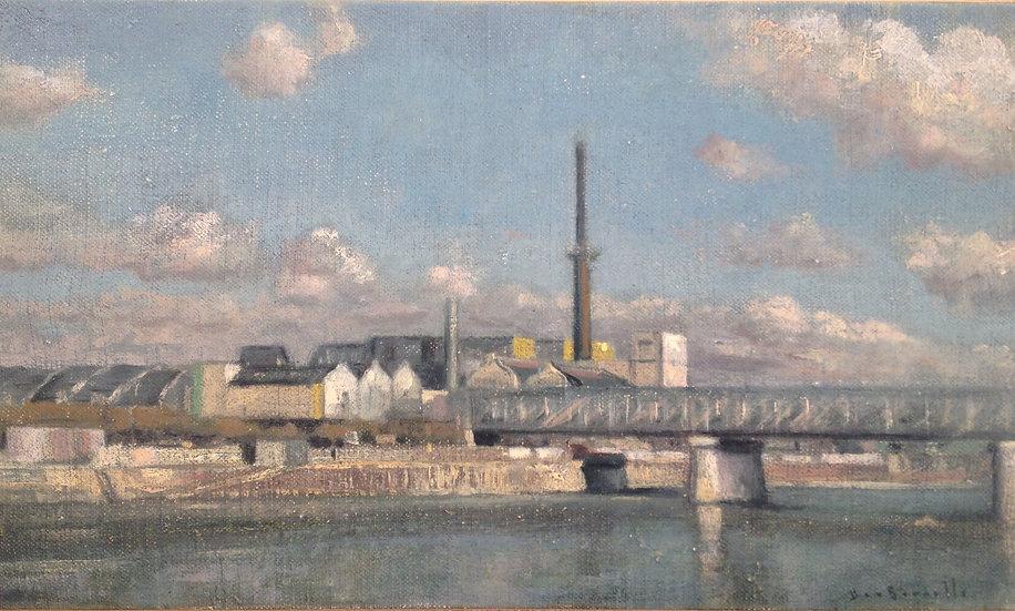 André Boubounelle / Factory in Argenteuil
