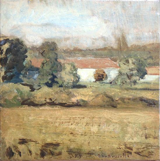 André Boubounelle / The farm of Chavenay