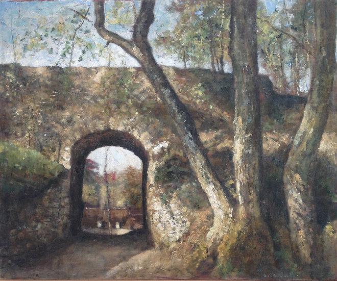 André Boubounelle / The Porte des Remparts in Montfort