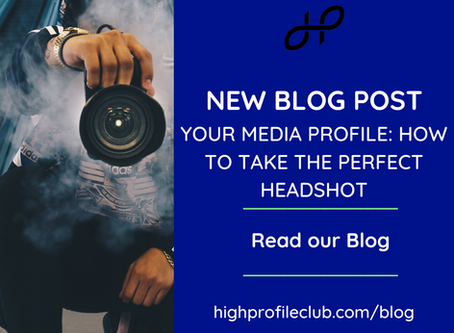 Your media profile: How to take the perfect headshot