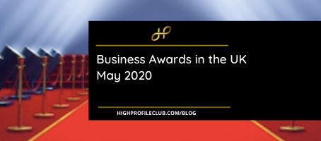 Business Awards in the UK May 2020