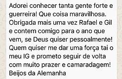 rafael dos santos melhor do brasil na eu