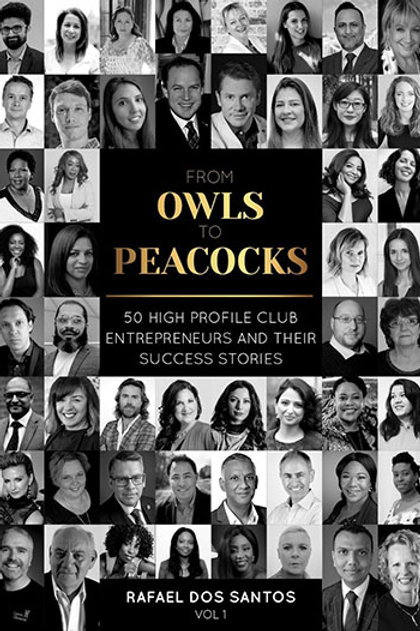 Owls to Peacocks - 50 High Profile Club Entrepreneurs