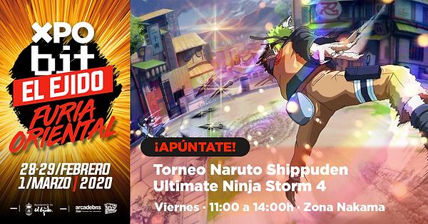 Naruto Shippuden Ultimate Ninja Storm 4.